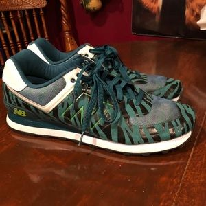 Men's New Balance 574 Tiger Stripe